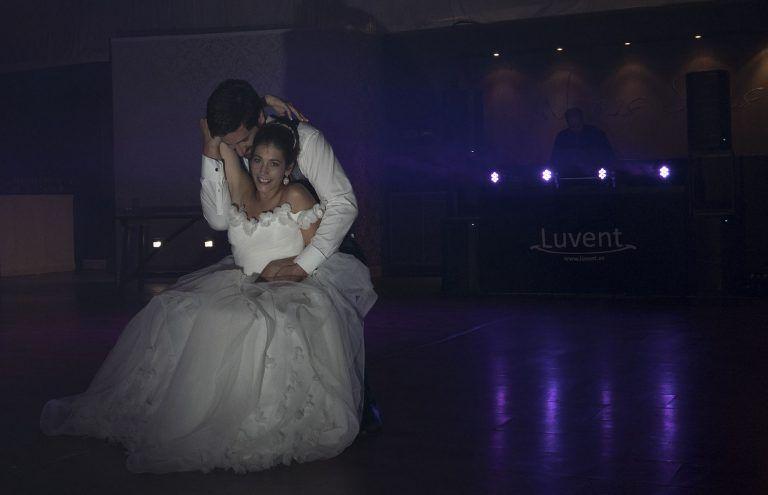Inicio del baile de los novios